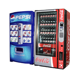 Pop & Soda Vending Machines